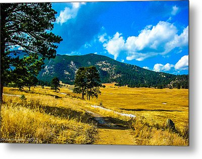 Metal Print featuring the photograph God's Country by Shannon Harrington
