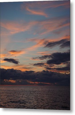 God's Evening Painting Metal Print by Bonfire Photography