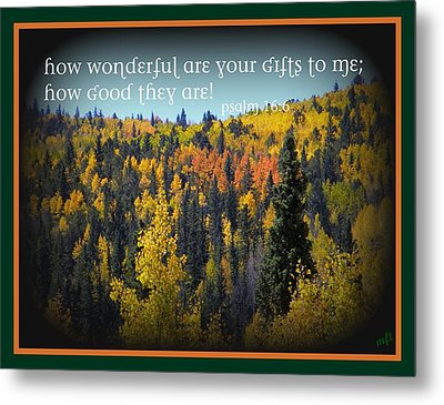 God's Gifts Metal Print by Michelle Frizzell-Thompson