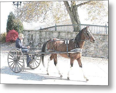 Going Home Metal Print by Western Roundup