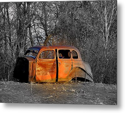 Going No Where Fast Metal Print by John Comeau