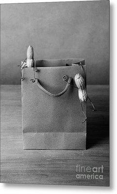 Going Shopping 01 Metal Print by Nailia Schwarz