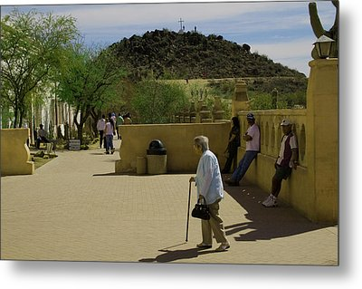 Metal Print featuring the photograph Going To Mass by Tom Singleton