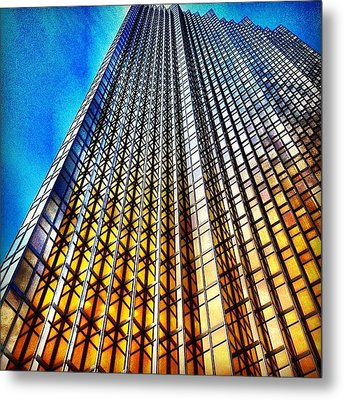Gold Fade Metal Print by Christopher Campbell