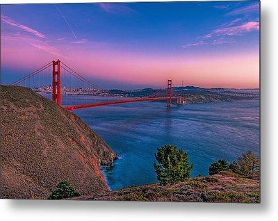 Golden Gate Bridge Metal Print by Eyal Nahmias