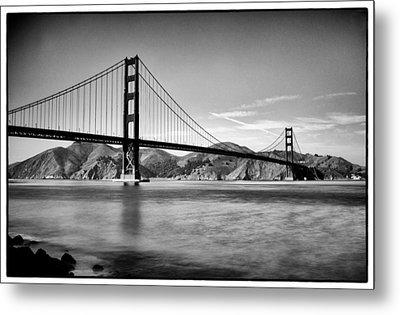 Golden Gate Bridge Metal Print by Tanya Harrison