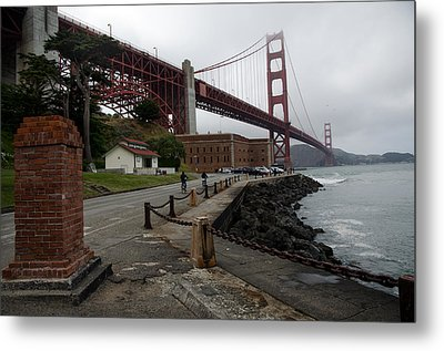 Metal Print featuring the photograph Golden Gate by Gary Rose