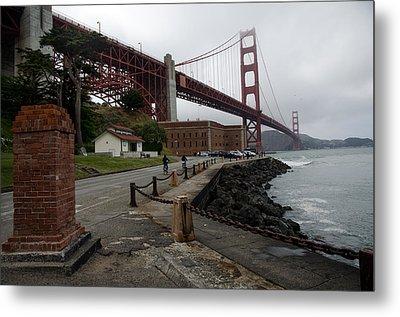 Golden Gate Metal Print by Gary Rose