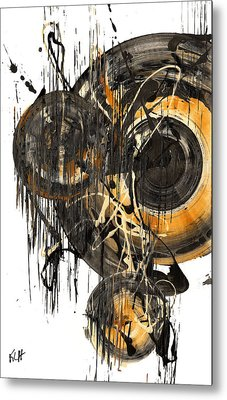 Golden Glow  69.041611 Metal Print by Kris Haas