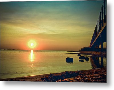 Metal Print featuring the photograph Golden Hour by Jason Naudi Photography