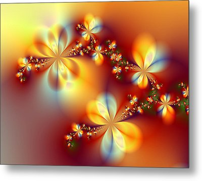 Golden Paradise Metal Print by Ester  Rogers