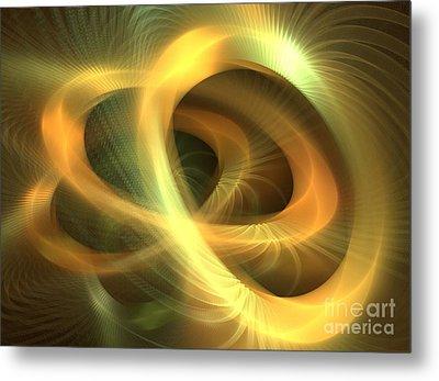Golden Rings Metal Print by Kim Sy Ok