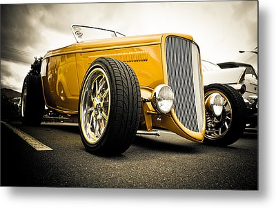 Golden Rod Metal Print by Phil 'motography' Clark