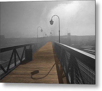Golden Trail Metal Print by Raymond Earley