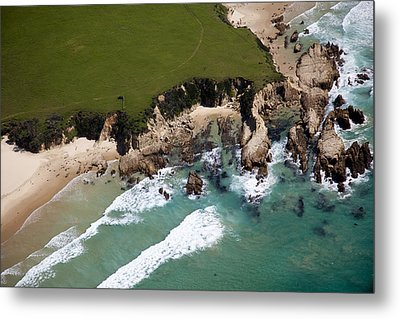 Metal Print featuring the photograph Golf Course by Carole Hinding