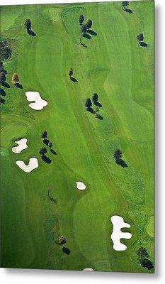 Golf Course Metal Print by Daniel Reiter