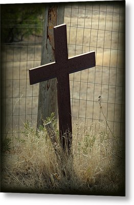 Gone But Not Forgotten Metal Print by Terry Eve Tanner