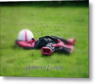 Gone To Lunch Metal Print by Mandy Jayne