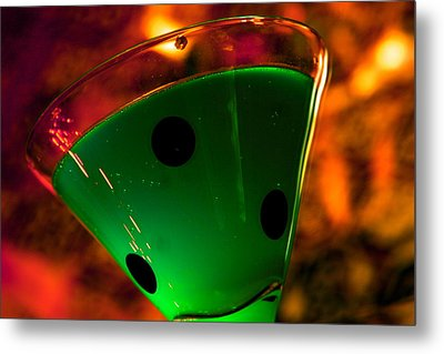 Good Luck Drink Metal Print by Toni Hopper