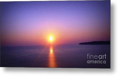 Metal Print featuring the photograph Good Morning Starshine by Nancy Dole McGuigan