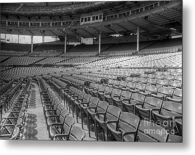 Good Seats At Wrigley Metal Print by David Bearden