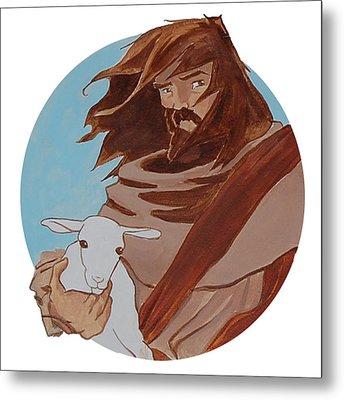 Good Shepherd 2 Metal Print by Miguel De Angel
