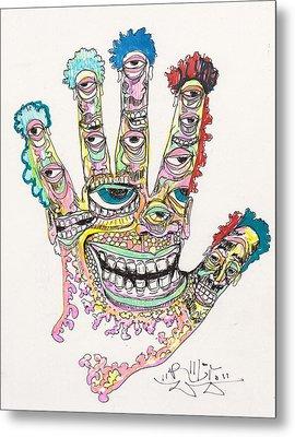 Good Time Metal Print by Robert Wolverton Jr