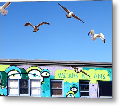 Good Vibes At Venice Beach Metal Print by Casey Berger