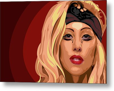 Googoo For Gaga Metal Print