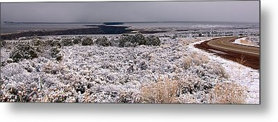 Metal Print featuring the photograph Gorge Snow by Britt Runyon