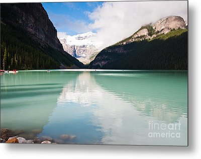 Metal Print featuring the photograph Gorgeous Lake Louise by Cheryl Baxter