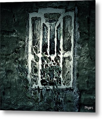 Gothic Window Metal Print