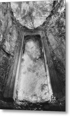 Gothic Window Metal Print by Simon Marsden