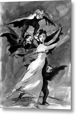 Goya Copy Metal Print