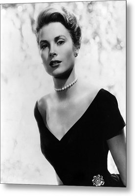 Grace Kelly, 1956 Metal Print by Everett