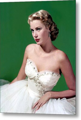 Grace Kelly, C. Mid-1950s Metal Print by Everett
