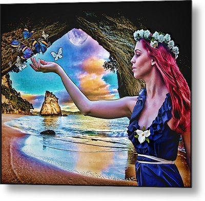 Grace Metal Print by Mary Morawska