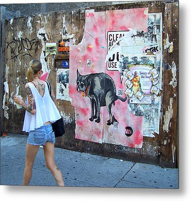 Graffiti Metal Print by Steven Huszar