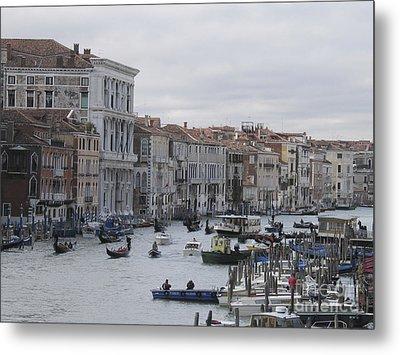 Gran Canal. Venice Metal Print by Bernard Jaubert