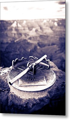 Grand Canyon - Sight Tube Metal Print by Scott Sawyer