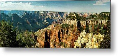 Grand Canyon Angel Panorama Metal Print by Bob and Nadine Johnston