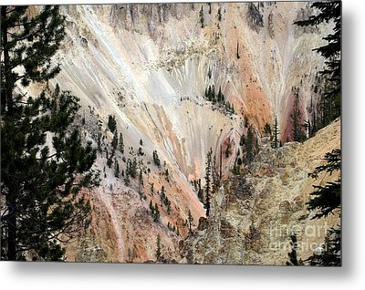 Grand Canyon Colors Of Yellowstone Metal Print by Living Color Photography Lorraine Lynch