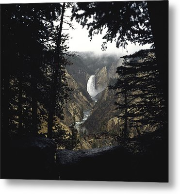 Metal Print featuring the photograph Grand Canyon Of The Yellowstone  by J L Woody Wooden