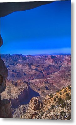 Grand Canyon Overlook Metal Print by Jeremy Linot