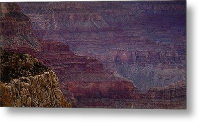 Grand Canyon Ridges Metal Print by Andrew Soundarajan