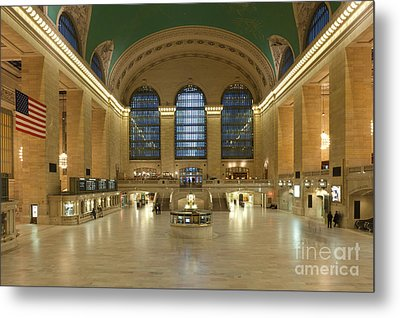 Grand Central Terminal I Metal Print by Clarence Holmes