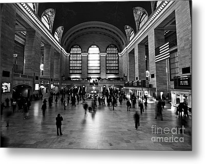 Grand Central Terminal Metal Print by Michael Dorn