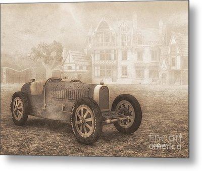 Grand Prix Racing Car 1926 Metal Print by Jutta Maria Pusl
