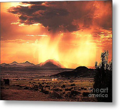 Granite Mountain Metal Print by Arne Hansen