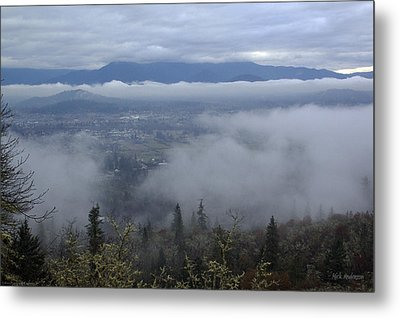 Grants Pass Weather Metal Print by Mick Anderson